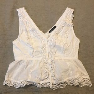 Abercrombie All-Over Lace Top